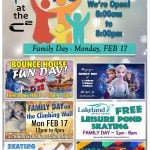2020 FEB 04: We have a full day of amazing activities on FAMILY DAY, February 17