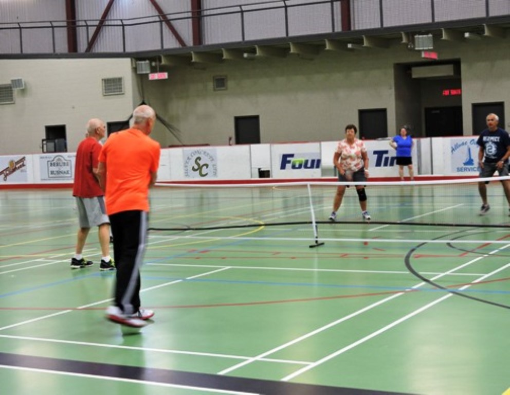 Pickleball at the Bonnyville C2 is a great option for Adult Recreational Programming