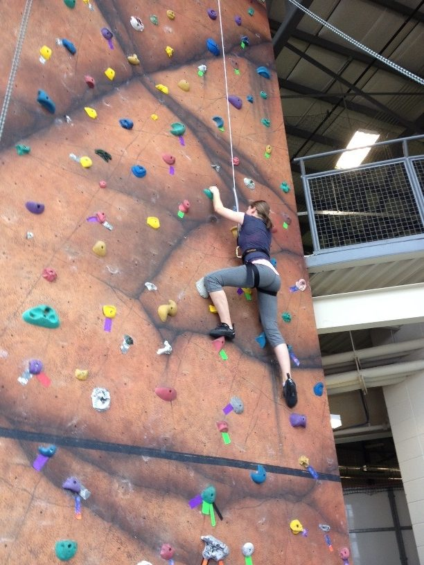 Adult recreation options at the Bonnyville C2 include the Climbing Wall